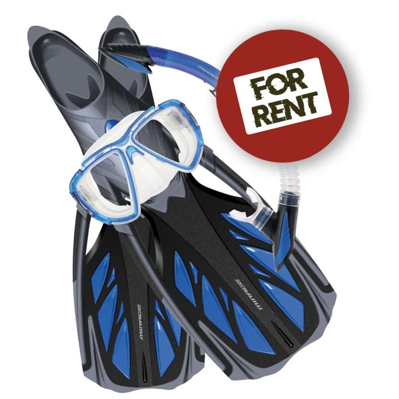 SNORKELING EQUIPMENT FOR RENT