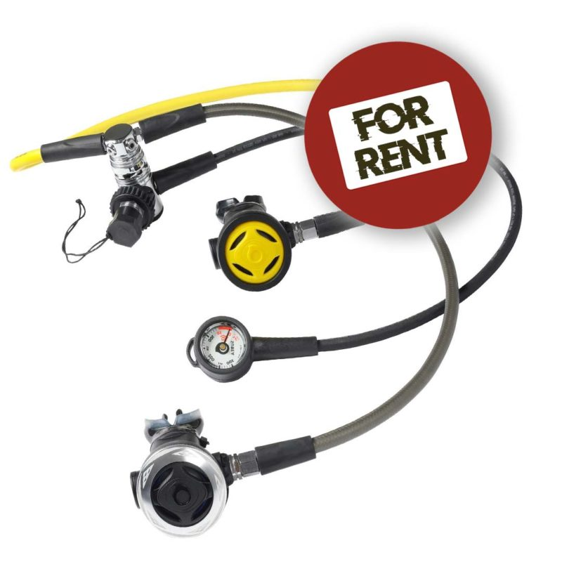 SCUBA REGULATOR FOR RENT