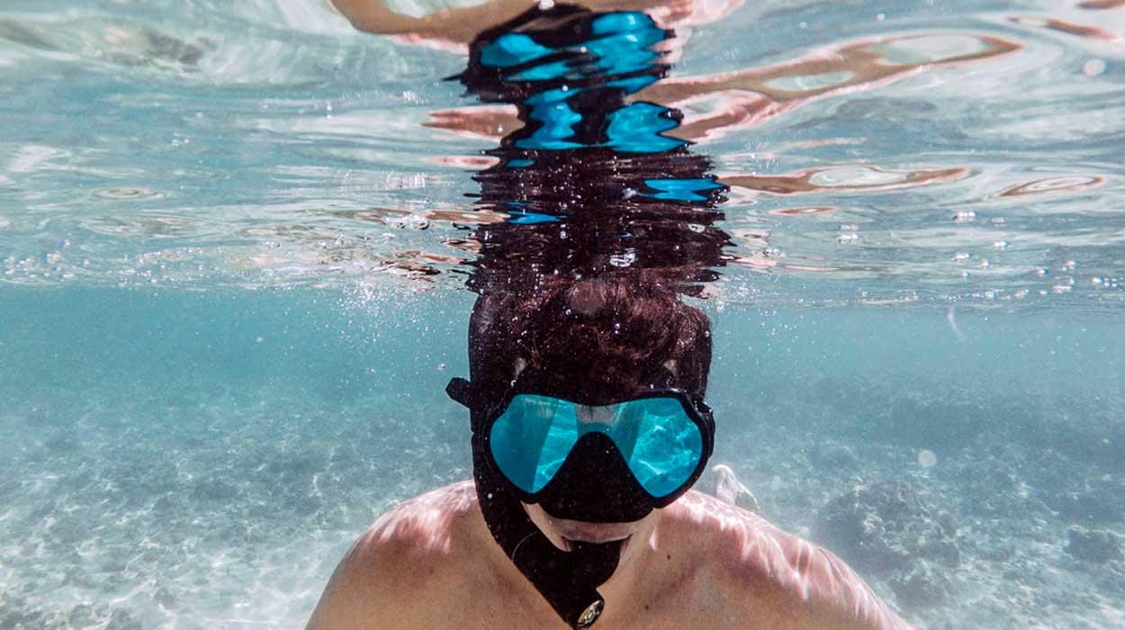Snorkeling equipment in costa rica