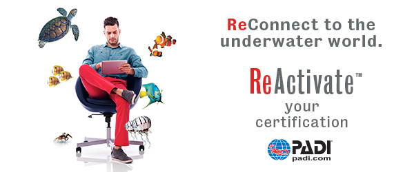 PADI ReActivat Scuba Refresher Program costa rica